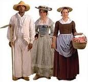 Colonial social classes.