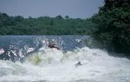 The White Nile River.