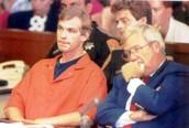 Jeffrey Dahmer during his criminal trial