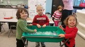 Ariadne Groff, Jack Sands, and Avery Nieves; Ice Painting