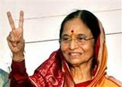 The first lady president in India (2007)