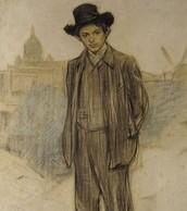 Retrat de Picasso, per Ramon Casas