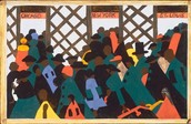 The Migration of the Negro panel number 1