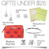Gifts ideas under $25