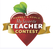 Barnes and Noble - My Favorite Teacher Essay Contest - Submit Completed Entries to Tonya