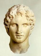 """פרטים על אלכסנדר מוקדון, (""""אלכסנדר הגדול"""") :"""