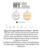 Benefiting the Noreen Fraser Foundation