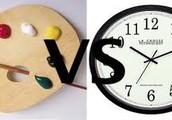 Creativity Vs. Time