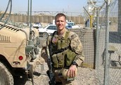 Eric as a Navy SEAL in Iraq