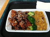 Sesame Chicken Combo