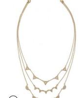 Pave Chevron Gold - orig $79, sale $50
