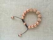 Rose Gold Adjustable Bracelet