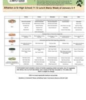 Grade 9-12 January 5-9