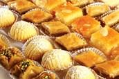 Caja de 10 dulces árabes a sólo $4000.-