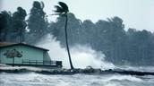 Hurricane happening