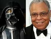 James was the voice of Darth Vader.