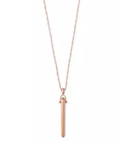 Rose Gold Rebel Necklace