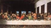 January 1st, 1595 Da Vinci paints the last supper