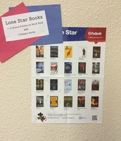 Students are receiving bonus points on their Book Studies for choosing a Lone Star Book!
