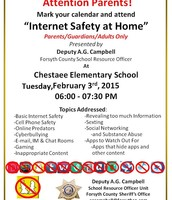 Internet Safety Night for Parents!