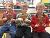 We sewed our very own teddy bears - each one is adorable!