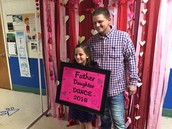 PTA did an excellent job with the Father-Daughter Dance.  The dad's and their girls were adorable!