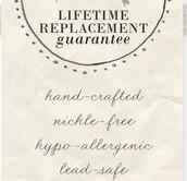 Lifetime Guarantee!