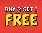 Buy 2 Adult Meals get 1 free!!