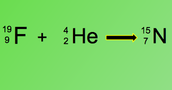 Alpha decay of fluorine-19