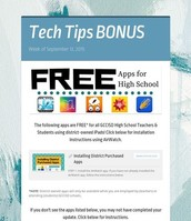 Free Apps for High School