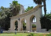 מידע על אנדרטת הברון רוטשילד