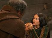 Juliet is speaking to Friar Laurence