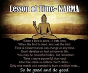 The Laws of Karma