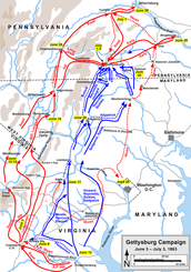 March to Gettysburg