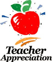 Teacher Appreciation Week - 5/4-5/8