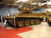 Fury commonly used tank Tiger I