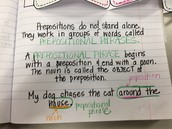 Prepositional Phrases NOTES