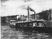 Steam boat cargo
