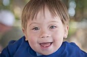 little boy with down syndrome