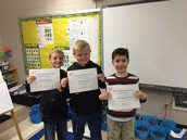 Perfect attendance in Ms. Croft's class!