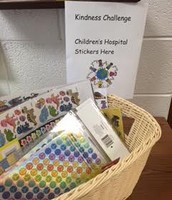 Sticker donations for the Children's Hospital of Michigan