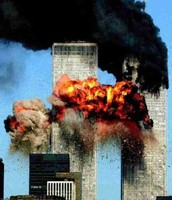 Scame on the Twin Towers of 911