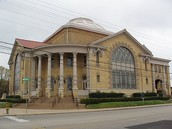 The first baptist church in Waco