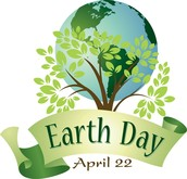 Earth Day is on April 22
