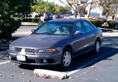 2003 Mitsubishi Galant For Sale in Hayward Ca - Only 120k freeway miles!