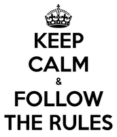 Set rules for yourself