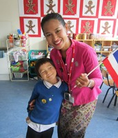 A special visitor from Thailand