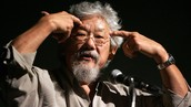 What was David Suzuki involved in that made him into a leader?