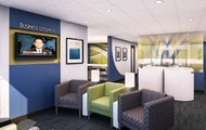 Private business lounge