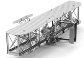 A model of the airplane they flew